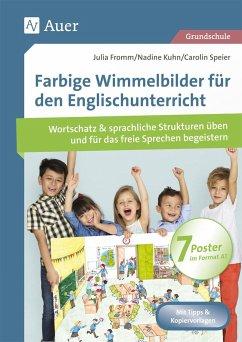 Farbige Wimmelbilder für den Englischunterricht