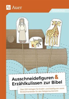 Ausschneidefiguren & Erzählkulissen zur Bibel