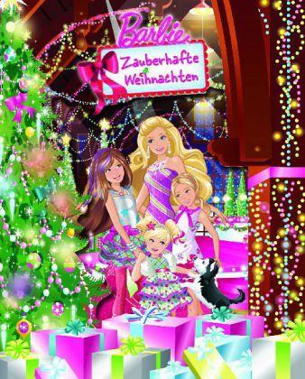 barbie zauberhafte weihnachten buch b. Black Bedroom Furniture Sets. Home Design Ideas
