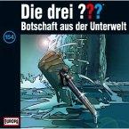 Botschaft aus der Unterwelt / Die drei Fragezeichen - Hörbuch Bd.154 (1 Audio-CD)