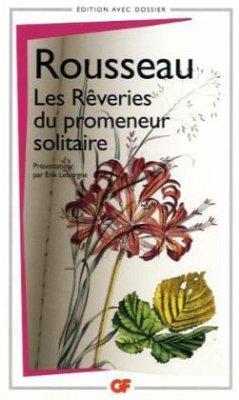 Les rêveries du promeneur solitaire - Rousseau, Jean-Jacques
