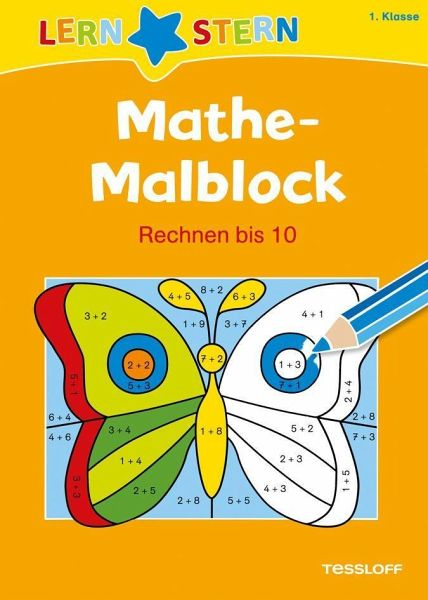 lernstern mathemalblock 1 klasse rechnen bis 10 von