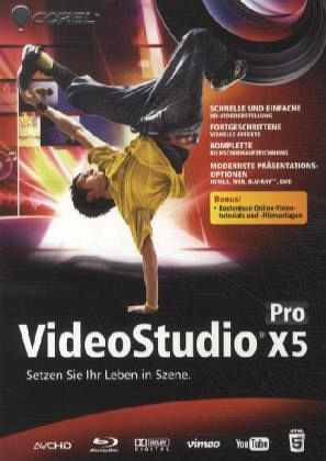 videostudio pro x5 pc software. Black Bedroom Furniture Sets. Home Design Ideas