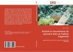 Activité et mouvements de poissons dans un habitat fragmenté