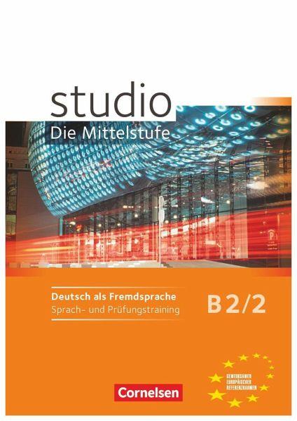 Studio D Mittelstufe B22 Sprach Und Prüfungstraining Von Rita