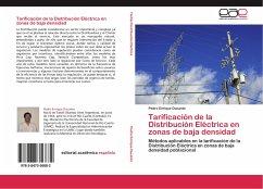 Tarificación de la Distribución Eléctrica en zonas de baja densidad