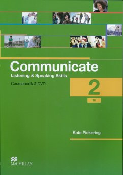 Communicate 2. Student's Book with 2 Audio-CDs and DVD - Pickering, Kate