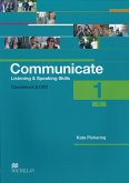 Communicate 1. Student's Book with 2 Audio-CDs and DVD