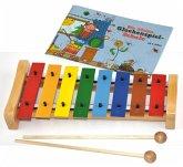 """Voggenreiter Buntes Glockenspielset mit Buch """"Kleine Glockenspielschule"""