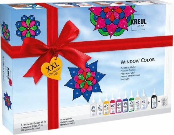 window color glas design set xxl. Black Bedroom Furniture Sets. Home Design Ideas