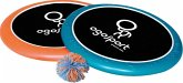 Ogo Sport Set, blau-orange (2 x Ogo-Scheiben 30cm + Ball)
