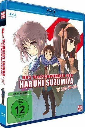 Das Verschwinden der Haruhi Suzumiya - Der Film (+ DVD)