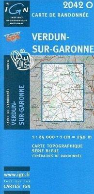Verdun-Sur-Garonne 1 : 25 000