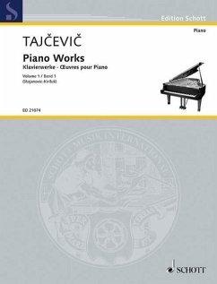 Klavierwerke 1. Klavier.