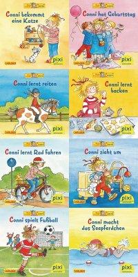 Pixi-Bundle 8er Serie 190. Neue Abenteuer mit Conni