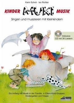 MUKi, Kinder-Musik, m. Audio-CD