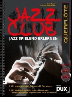 Jazz Club, Querflöte, m. 2 Audio-CDs - Mayerl, Andy; Wegscheider, Christian
