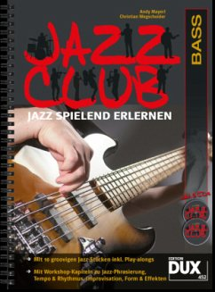Jazz Club, Bass, m. 2 Audio-CDs - Mayerl, Andy; Wegscheider, Christian