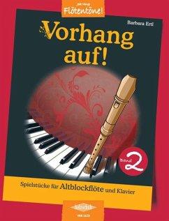 Vorhang auf!, für Altblockflöte und Klavier