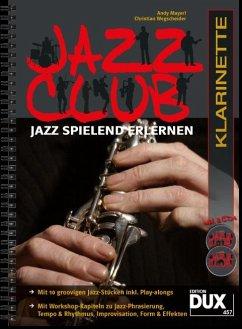 Jazz Club, Klarinette, m. 2 Audio-CDs - Mayerl, Andy; Wegscheider, Christian