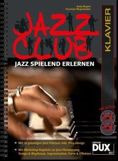 Jazz Club, Klavier, m. 2 Audio-CDs - Mayerl, Andy; Wegscheider, Christian