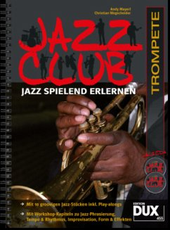 Jazz Club, Trompete, m. 2 Audio-CDs - Mayerl, Andy; Wegscheider, Christian