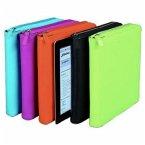 ALASSIO iPad-Hülle mit Reißverschluss, Nappaleder, schwarz