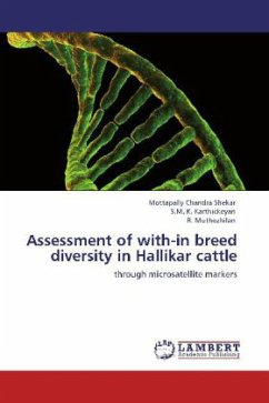 Assessment of with-in breed diversity in Hallikar cattle