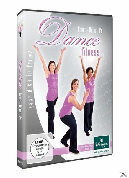 dance fitness bauch beine po film auf dvd. Black Bedroom Furniture Sets. Home Design Ideas