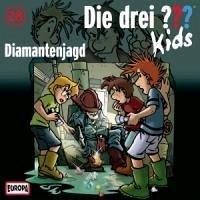 diamantenjagd / die drei fragezeichen-kids bd.28 1 audio-cd von boris pfeiffer - hörbuch
