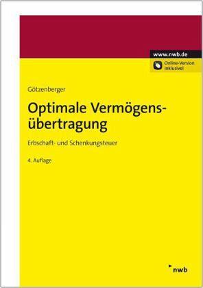 Optimale Verm?gens?bertragung von Anton Rudolf G?tzenberger