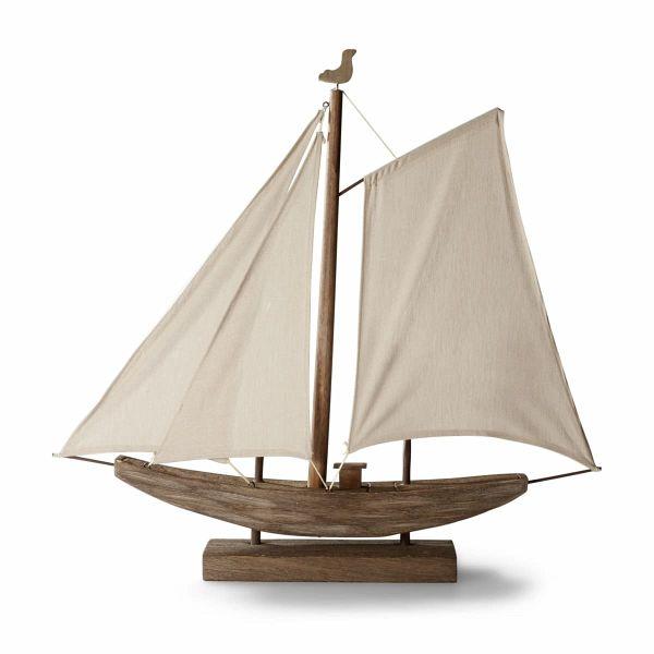 miavilla tischleuchte segelboot braun. Black Bedroom Furniture Sets. Home Design Ideas