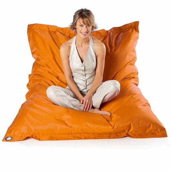 riesen sitzkissen orange. Black Bedroom Furniture Sets. Home Design Ideas
