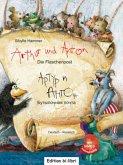 Arthur und Anton: Die Flaschenpost, Deutsch-Russisch, m. Audio-CD