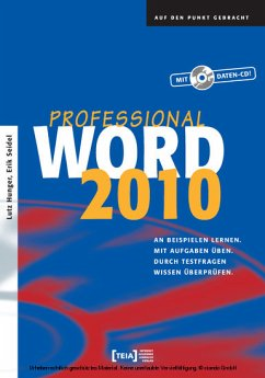 Word 2010 Professional (eBook) - Lutz Hunger, Erik Seidel