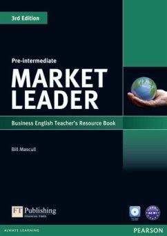 Market Leader. Pre-Intermediate Teacher's Resource Book (with Test Master CD-ROM) - Cotton, David