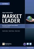 Market Leader 3rd Edition Upper Intermediate Coursebook with DVD-ROM and MyLab Access Code Pack, m. 1 Beilage, m. 1 Onli / Market Leader Upper Intermediate 3rd edition