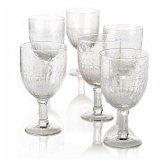 Weißweinglas-Set, 6-tlg. klar