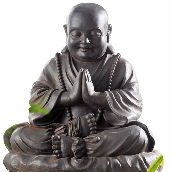 deko figur buddha rusty. Black Bedroom Furniture Sets. Home Design Ideas