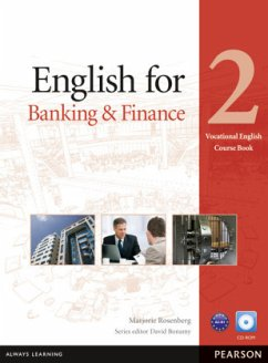 Vocational English Level 2. English for Banking and Finance. Coursebook (with CD-ROM incl. Class Audio) - Rosenberg, Marjorie