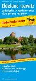 PublicPress Radwanderkarte Eldeland - Lewitz, Ludwigslust - Parchim - Lübz - Plau am See - Krakow