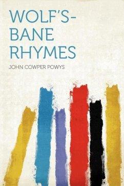 Wolf's-bane Rhymes