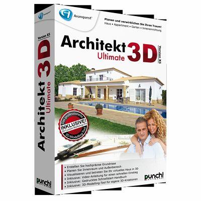 architekt 3d x5 ultimate download f r windows. Black Bedroom Furniture Sets. Home Design Ideas