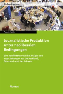 Journalistische Produktion unter neoliberalen Bedingungen - Zwicky, Pascal