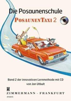 Die Posaunenschule PosaunenTaxi, m. Audio-CD