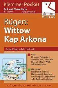 Rügen: Wittow, Kap Arkona Rad- und Wanderkarte ...