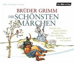 Die schönsten Märchen, 4 Audio-CDs - Grimm, Jacob; Grimm, Wilhelm