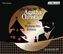 Die Weihnachts-Krimis, 7 Audio-CDs - Christie, Agatha