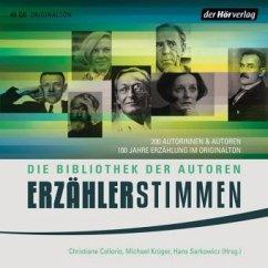 Erzählerstimmen, 44 Audio-CDs - Christiane Collorio, Michael Krüger, Hans Sarkowicz