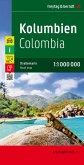 Freytag & Berndt Autokarte Kolumbien; Colombia
